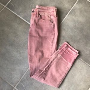 Universal Thread Pink Mid-Rise Skinny Jeans
